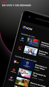 Univision NOW - TV en vivo y on demand en español poster