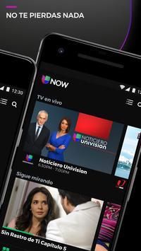 Univision NOW - TV en vivo y on demand en español screenshot 1