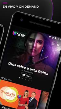 Univision NOW - TV en vivo y on demand en español screenshot 1