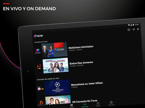 Univision NOW - TV en vivo y on demand en español screenshot 5