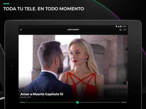 Univision NOW - TV en vivo y on demand en español screenshot 8