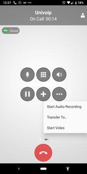 UniVoIP App screenshot 3
