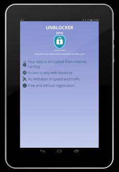 Vpn Free Unblocker unlimited-best anonymous secure screenshot 15
