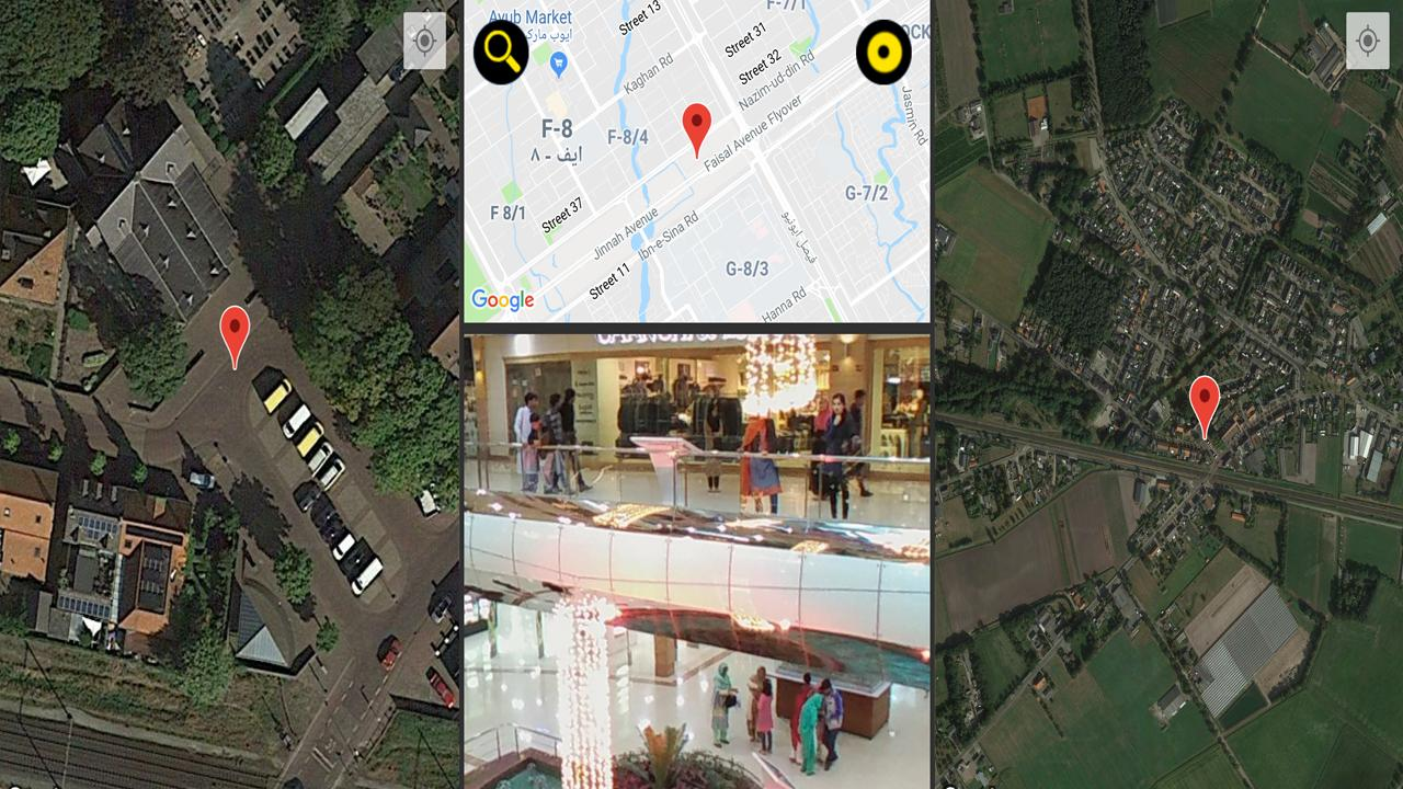 Gps Live Satellite View Street Global Maps Fur Android Apk