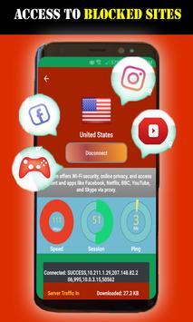 Free Plus Unlimited Inf Vpn screenshot 7
