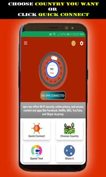 Free Plus Unlimited Inf Vpn screenshot 4