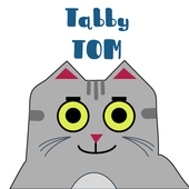 Tabby Tom Stickers icon