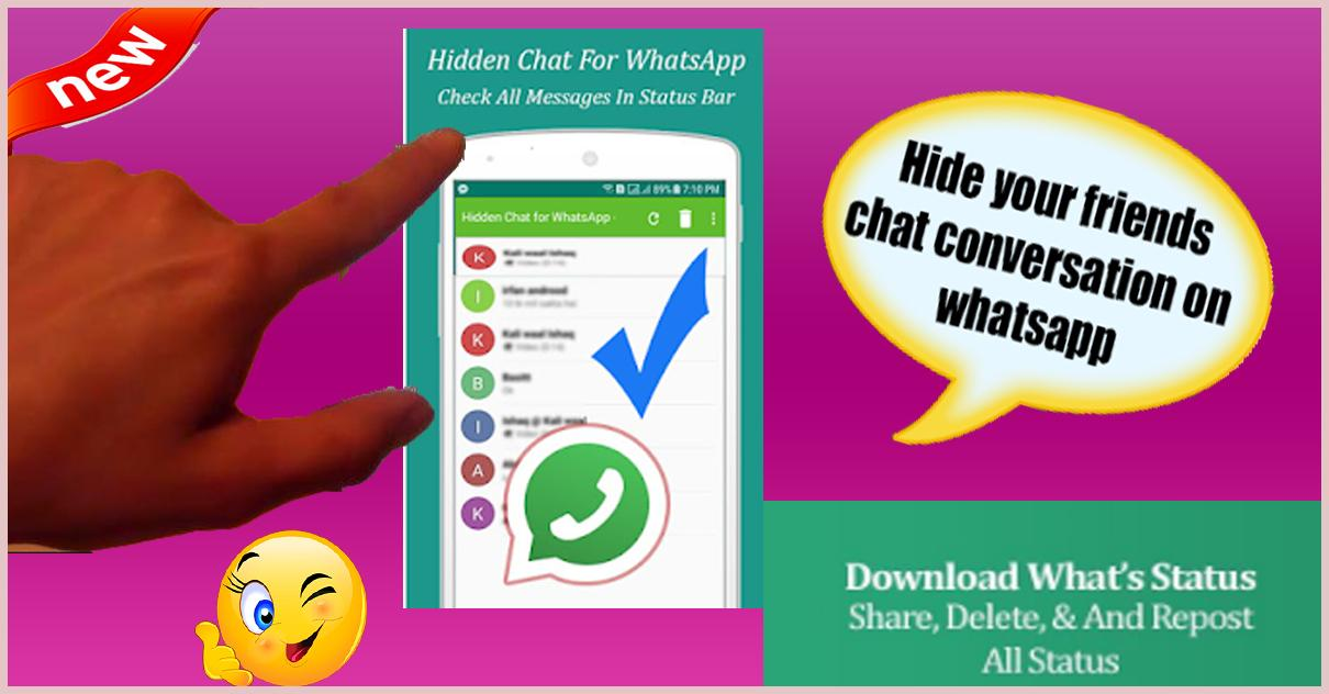 Hidden Chat For Whatsapp And Status Saver For Android Apk