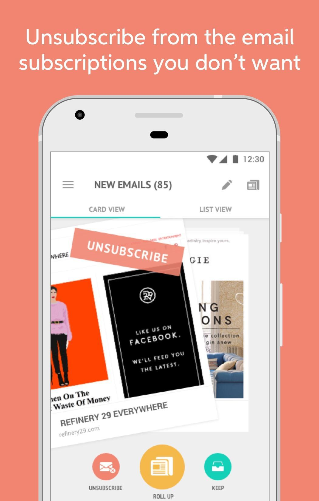 Unroll Me for Android - APK Download