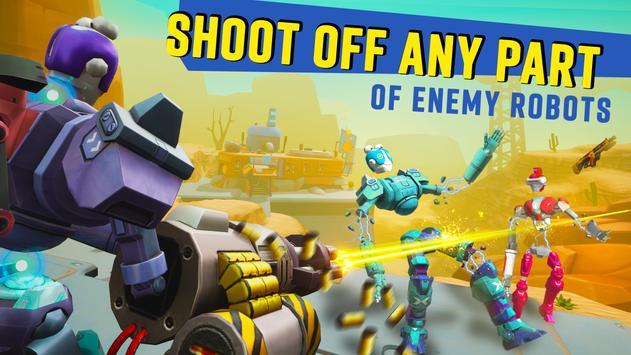 Blast Bots - Blast your enemies in PvP shooter! screenshot 2