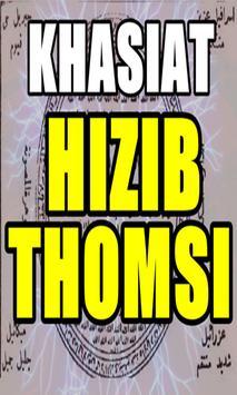 Mahabbah Dan Doa Hizib Thomsi Arab Latin poster