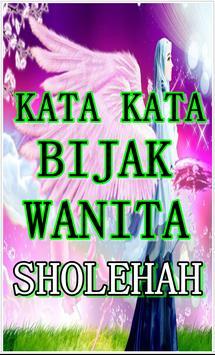 Kata Wanita Sholehah yang Indah dan Penuh Hikmah poster