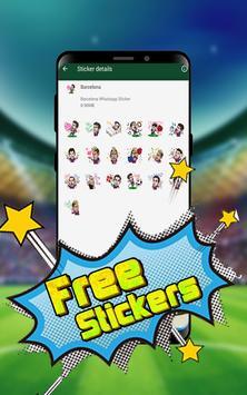 Soccer STICKER for WHATSAPP screenshot 1