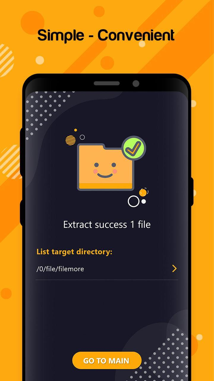 Zip files android