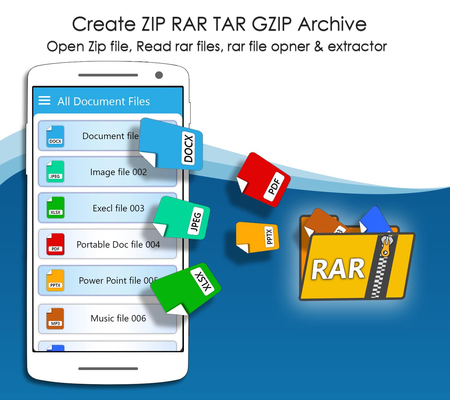 Rar Extractor For Android Zip Reader Rar Opener For Android