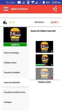 Gestor Food Chef - Pedidos APP da Loja screenshot 2