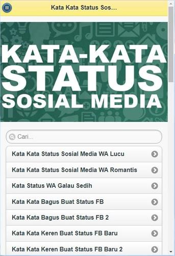 Kata Kata Status Media Sosial For Android Apk Download