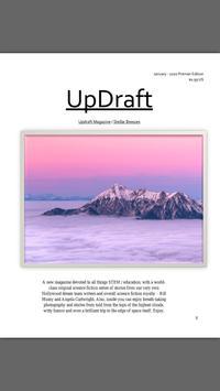 UpDraft Magazine poster