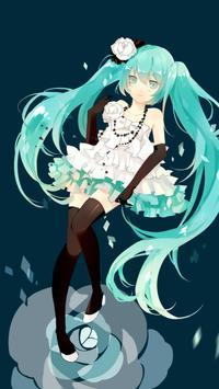 Hatsume Miku xhd wallpapers screenshot 5