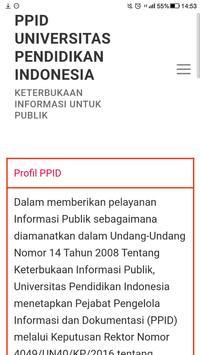 PPID UPI poster