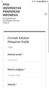PPID UPI screenshot 3