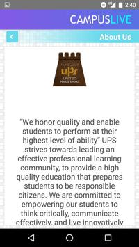 UPS Schools screenshot 1