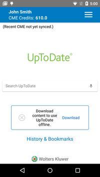 UpToDate screenshot 1