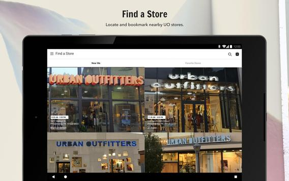Urban Outfitters スクリーンショット 12