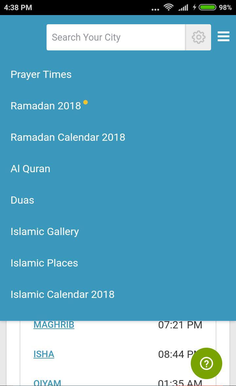 Ramadan Calendar 2019 : Sehri and Iftar Timetable for