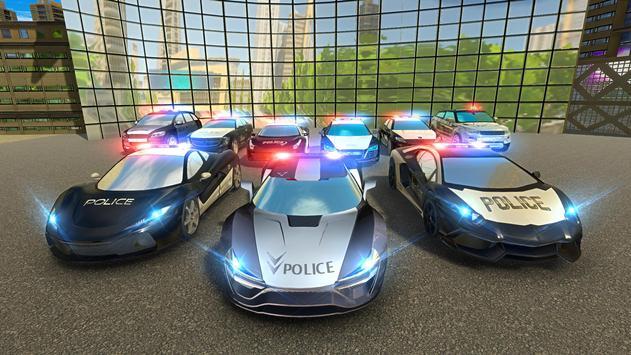Police Chase Car - Drift Drive Simulator 2019 screenshot 14