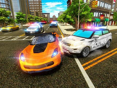 Police Chase Car - Drift Drive Simulator 2019 screenshot 10