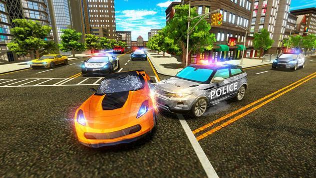 Police Chase Car - Drift Drive Simulator 2019 screenshot 3