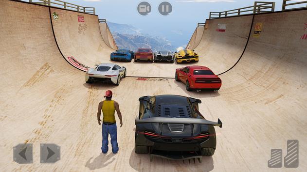 Mega Ramps: 3D Car Stunt Games screenshot 7