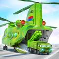 US Army Transporter Plane - Car Transporter Games