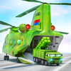 US Army Transporter Plane - Car Transporter Games icon