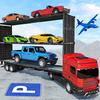 US Army Transporter Plane - Car Transporter Games biểu tượng