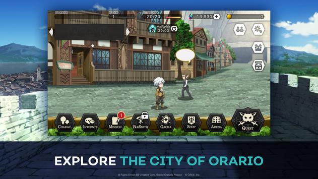 DanMachi - MEMORIA FREESE screenshot 2