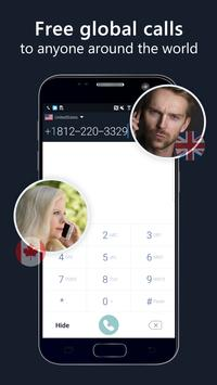 2nd phone number - free private call and texting постер