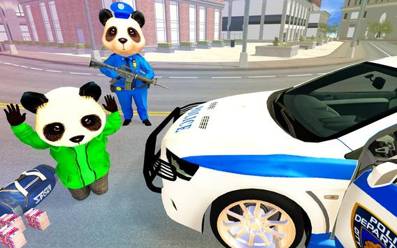 US Police Panda Rope Hero:Police Attack Game screenshot 2