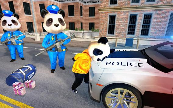 US Police Panda Rope Hero:Police Attack Game poster