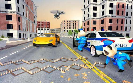 US Police Panda Rope Hero:Police Attack Game screenshot 1
