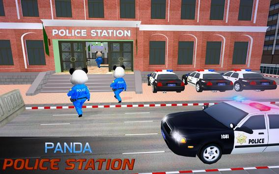 US Police Panda Rope Hero:Police Attack Game screenshot 4