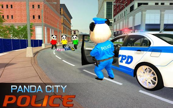 US Police Panda Rope Hero:Police Attack Game screenshot 8