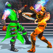 Us Robot Fighting 2019 : Ring Wrestling Games icon