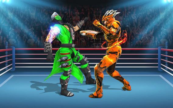 Us Robot Fighting 2019 : Ring Wrestling Games poster