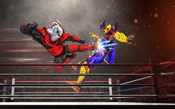 Us Robot Fighting 2019 : Ring Wrestling Games screenshot 12