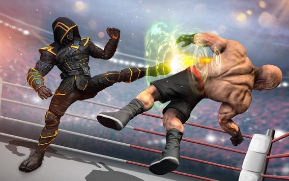 Us Robot Fighting 2019 : Ring Wrestling Games screenshot 1