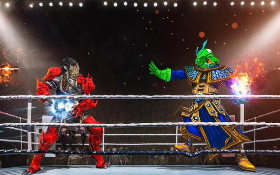 Us Robot Fighting 2019 : Ring Wrestling Games screenshot 8