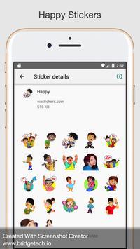 Stickers for WhatsApp - WAStickersApp screenshot 4