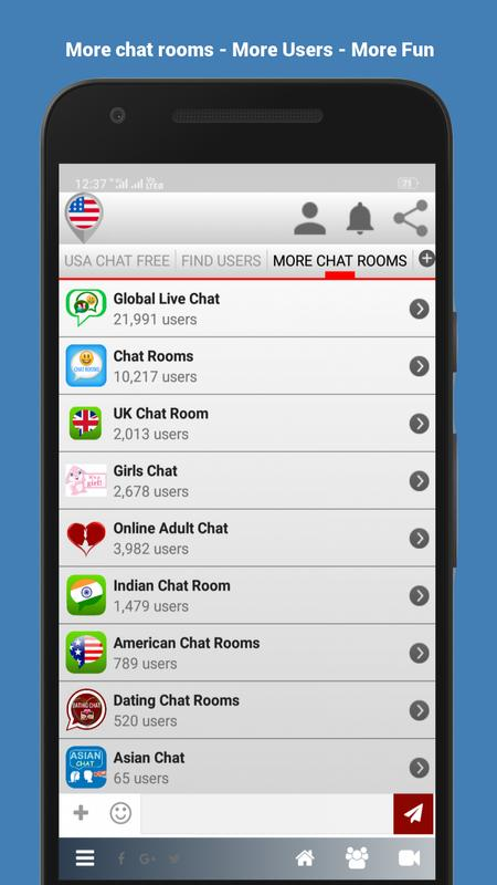 american chat room free online